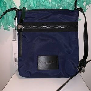 Marc Jacobs NS Indigo Nylon Crossbody